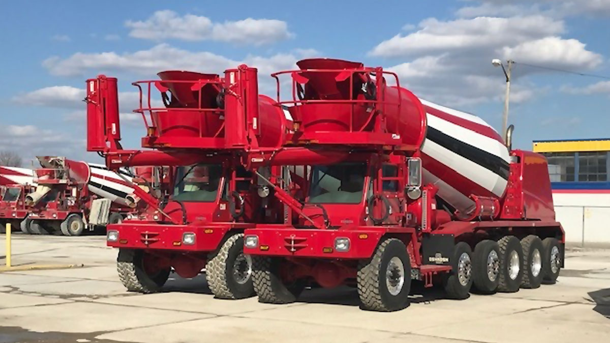 Protocon Ready Mix Concrete Trucks