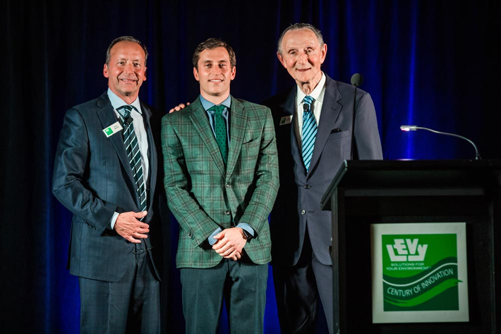 Leadership: Evan Weiner, S. Eliot Weiner, and Ed Levy, Jr.