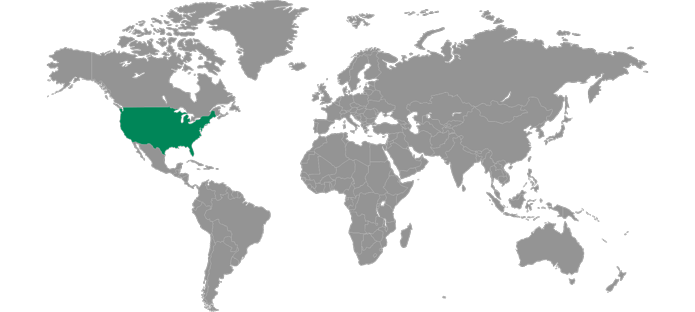 Levy Locations in the United States