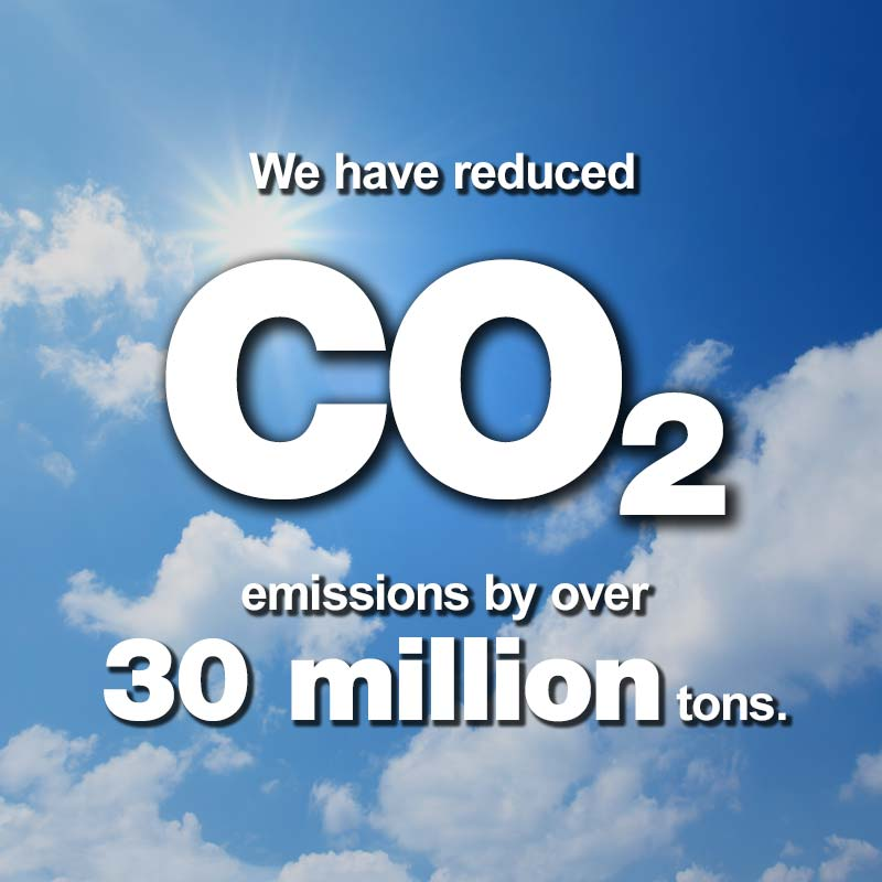 Levy, Reducing CO2 Emissions by Over 30 Million Tons